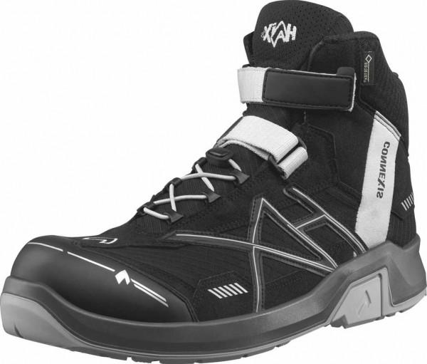 HAIX ESD Sicherheits-Schnürstiefel S3, Connexis Safety GTX Mid 630008, black/silver, Gr. 6-15