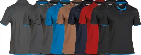 Dassy Polo-Shirt Orbital, 97%PES/3%EL-220g/m², #VarInfo