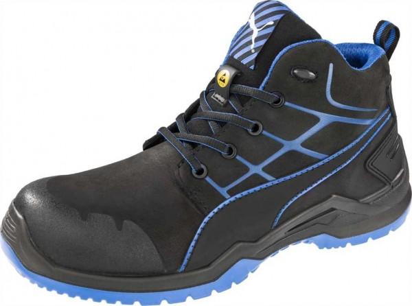 Puma ESD Sicherheits-Schnürstiefel S3, Krypton Blue Mid 63.420.0, Gr. 40-49