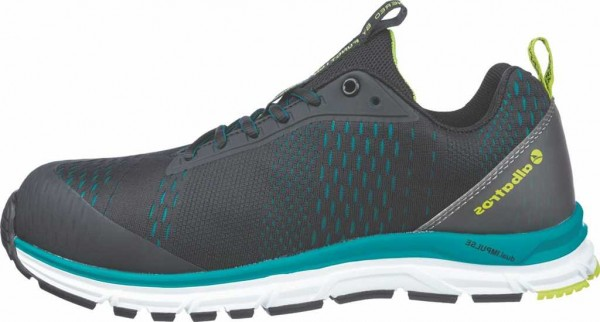Albatros ESD Sicherheits-Halbschuhe S1P, AER55 Impulse Black Blue Low 64.750.0, #VarInfo