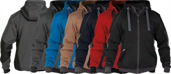 Dassy Sweatshirt Jacke Pulse, 80%BW/20%PES-290g/m², #VarInfo