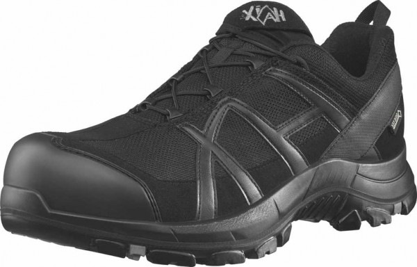 HAIX ESD Sicherheits-Halbschuh S3, Black Eagle Safety 40 Low 610010, black/black, Gr. 3-15