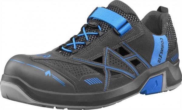 HAIX ESD Sicherheits-Sandale S1, Connexis Safety Air Low 630009, grey/blue, Gr. 4-12