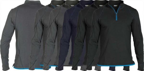 Dassy Langarm T-Shirt Sonic, 92%BW/8%EL-220g/m², #VarInfo